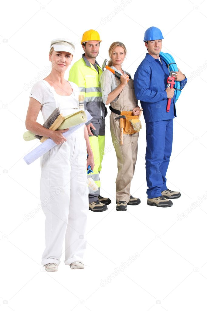 Manual workers — Stock Photo #7673059