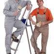 Two male painters — Stock Photo #7699521