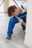 Artigiana dipinto una parete — Foto Stock