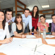 Business team meeting — Stock Photo #7701096