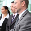 Businessmen in a office meeting — Stock Photo