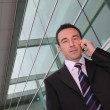 A business man at phone — Stock Photo #7701627