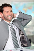 Relaxed executive — Stock Photo