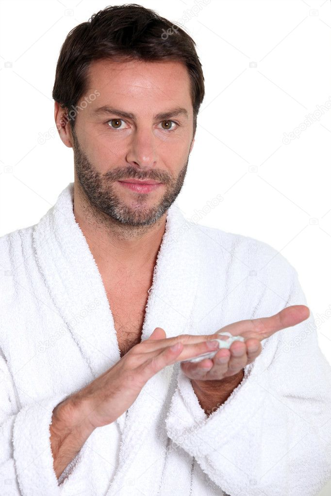 Man shaving — Stock Photo #7709122