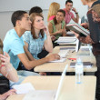Students and teacher in class — Stock Photo #7711541