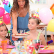 Kids at birthday party — Stock Photo #7712417