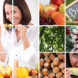 Stock Photo: Vegetables foods