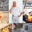 Stock Photo: Images of a construction site