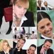 Office workers — Stockfoto