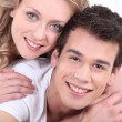 Smiling young couple — Stock Photo #7717144
