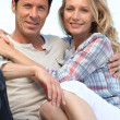 Smiling couple — Stock Photo #7717743