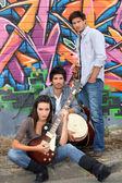 музыкальное трио — Стоковое фото
