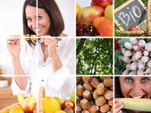 Vegetables foods — Stock Photo