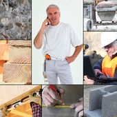 Images of a construction site — Stock Photo