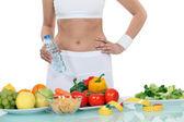 žena na dietě — Stock fotografie