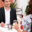 First date — Stock Photo