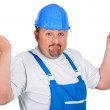 Clueless builder — Stock Photo