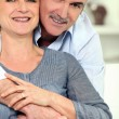 Portrait of mature couple — Stock Photo