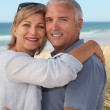 Couple on holiday by the seaside — Stock Photo #7744734