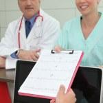 medico e infermiera — Foto Stock