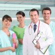 A team of medical professionals — Stock Photo #7746252