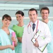 图库照片: Team of medical professionals