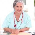 Confident female practitioner — Stock Photo #7746618