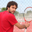 Tennis player — Stockfoto #7748484