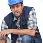 Confident foreman — Stock Photo