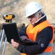 Stock Photo: Mconducting survey