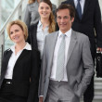 Team of executives — Stock Photo #7780452