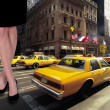 Yellow taxi — Foto de Stock