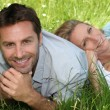 Couple in grass — Stock Photo #7789068