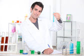 Portrait of a lab assistant — Stock Photo