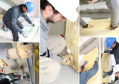 Insulating mosaic — Stock Photo