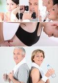 Sport at any age — Stock Photo