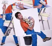 Craftsman painter — Stock Photo