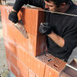 Bricklayer — Stock Photo #7792138