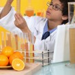 Little boy in a lab — Stock Photo #7795432