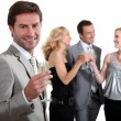 Couples partying — Stock Photo #7799365