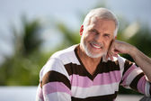 Portrait of an elderly man — Stock Photo