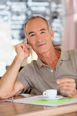 Relaxed coffee — Stock Photo