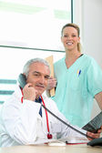 A team of medical professionals — Stock Photo