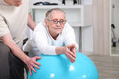 Physical therapy — Stockfoto