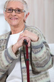 Elderly woman — Stock Photo