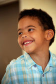 Portrait of happy little boy — Foto Stock
