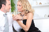 Drinks at home — Stock Photo