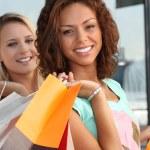 Girls shopping — Stock Photo #7801727