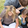 Group of students — Stock Photo #7802276