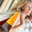 Loving couple shopping — Stock Photo #7802821